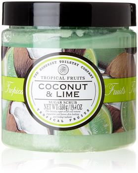 Tropical Fruits Coconut and Lime Sugar Scrub 92329 Peeling 500g