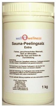 well2wellness PS-1D Sauna Peelingsalz