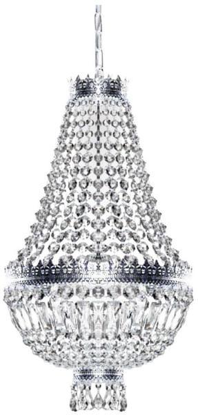 Kögl Cupola Nickel Pendelleuchte 3-flammig Nickel glänzend Ø 40cm