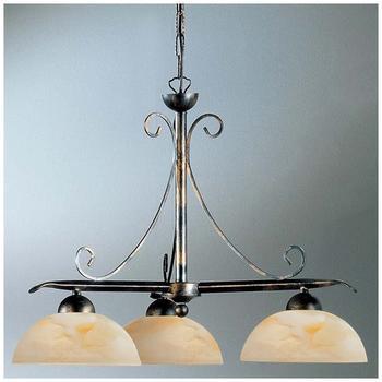 koegl-diana-krone-3-flg-gold-silber-glas-ambra-marmoriert