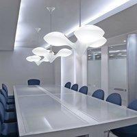 NEXT LED Hängelampe Enterprise 3-flammig Chrom, Weiß