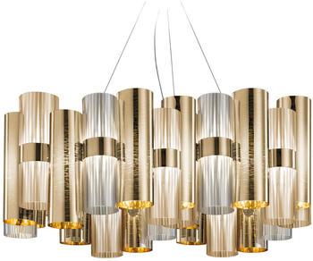 Slamp La Lollo L LED Suspension gold