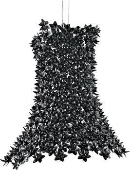 Kartell Bloom Hängeleuchte-rosa-schwarz (transparent)