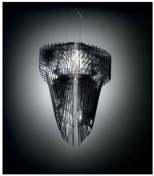 Slamp Aria Transparent LED Suspension small 75 cm transparent