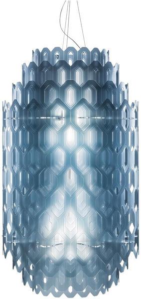 Slamp Chantal LED Suspension Medium blue