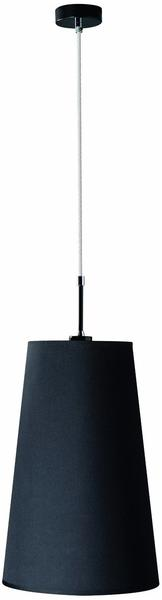 PHILIPS Massive 380303010 Broba Pendelleuchte/1 x 60 W, schwarz
