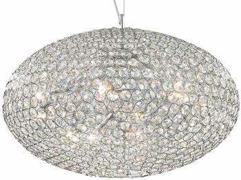 Ideal Lux Kristall Hängeleuchte Orion 12-flammig Ø60cm