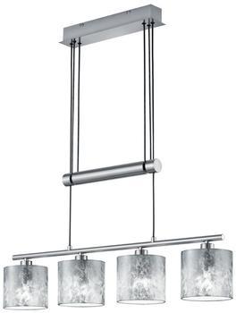 Trio Garda Pendel E14 4-flammig silber Nickel matt (305400489)