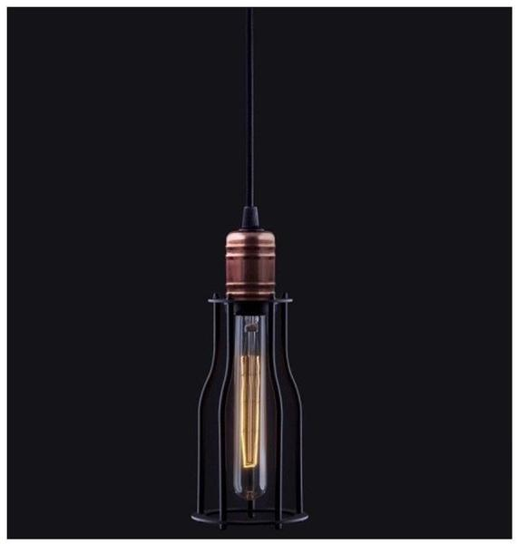 Licht-Trend Work 10 im Vintage-Look Schwarz & Kupfer