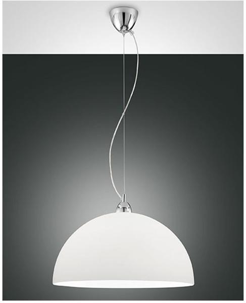 Fabas Luce Nice weiß 460mm E27 dimmbar