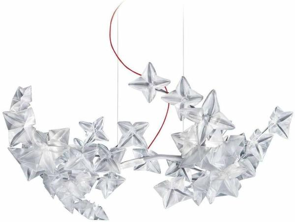 Slamp Hanami LED Suspension prisma rot