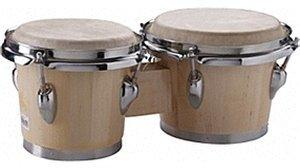 "Stagg Traditional Wooden Bongos 6"" & 7"""