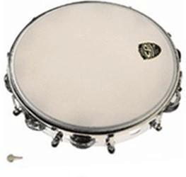 Latin Percussion CP stimmbares Metall-Tambourin (CP-392)