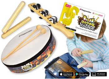 Voggenreiter Rhytmic Village Percussion-Set
