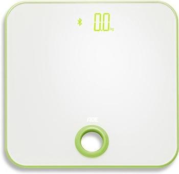 ADE Digitale Personenwaage BE 1613 FITvigo Wägebereich (max.)=180kg Weiß,Apfelgrün