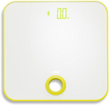 ADE Digitale Personenwaage BE 1614 FITvigo Wägebereich (max.)=180kg Weiß,Zitronengelb