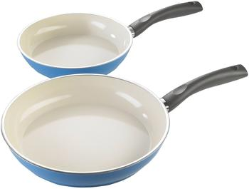 Stylen Cook Ceramic Duo Colors Pfannen-Set 2-tlg. blau