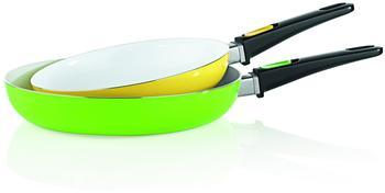 BratMaxx Pfannen-Set 2-tlg. grün/gelb