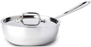 All-Clad Stainless Steel Sauteuse 25 cm