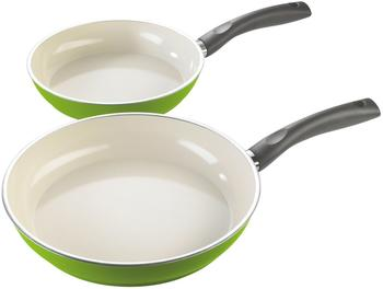 Stylen Cook Ceramic Duo Bratpfannen-Set 2-tlg. lemon