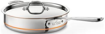 All-Clad Copper-Core Sauteuse-Pfanne 27 cm
