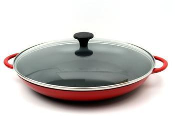 Küchenprofi Provence Paellapfanne 34 cm rot