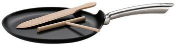 Küchenprofi Crepes Pfanne mit Schwarz mit 28 cm