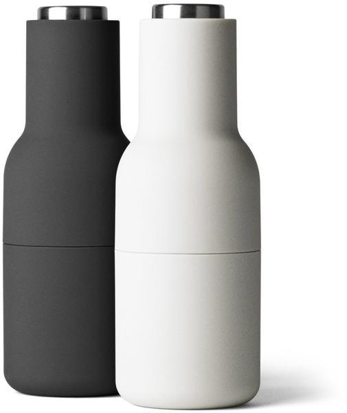 Menu Bottle Grinder 20,5 cm Ash Carbon (Edelstahl Deckel)