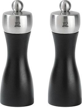Peugeot Fidji Salz- und Pfeffermühle Set 15 cm schwarz