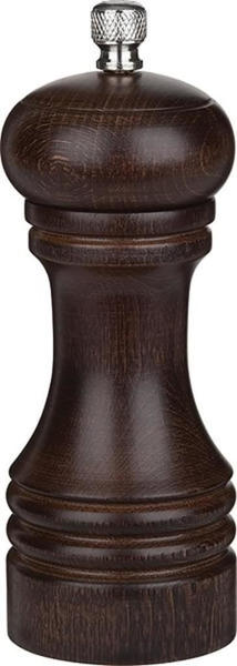 APS Germany Professional Pfeffermühle 15 cm Buchenholz dunkel