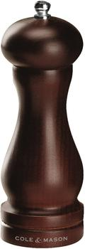 Cole & Mason Forest Capstan Pfeffermühle 16,5 cm gebeizte Buche braun