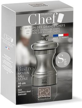 Peugeot Paris Salzmühle 10 cm silber