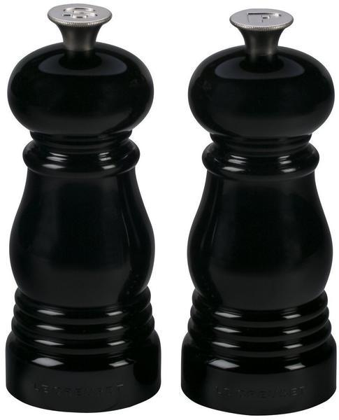 Le Creuset Salz- und Pfeffermühle im Set 11 cm schwarz