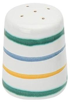 Gmundner Keramik Salzstreuer 5 cm Buntgeflammt