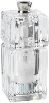Cole & Mason Cube Mini Salzmühle 9 cm Acryl