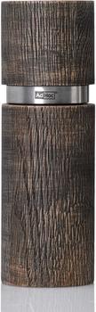 AdHoc Textura Antique Grande Pfeffer oder Salzmühle 15 cm braun