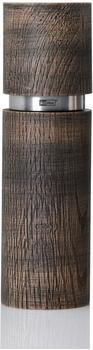 AdHoc Textura Antique Grande Pfeffer oder Salzmühle 20 cm braun