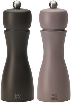 Peugeot Tahiti Salz- und Pfeffermühle Set 15 cm Winter kaffeebraun