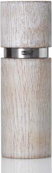 AdHoc Textura Antique Grande Pfeffer oder Salzmühle 15 cm weiß
