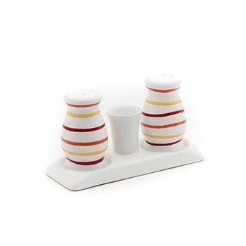 Gmundner Keramik Salz/Pfeffer Set bauchig Landlust