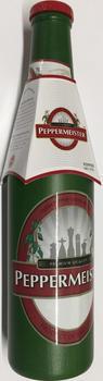Cole & Mason Peppermeister Holz-Mühle in Bierflaschen Design
