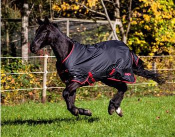 Covalliero RugBe Zero 165cm schwarz/rot