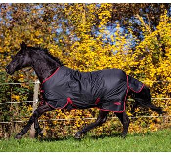 Covalliero RugBe Zero 155cm schwarz/rot