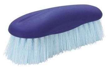 Pfiff Mähnebürste mit Softrücken blau
