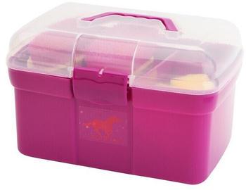 Red Horse Pferde Putzbox mit Inhalt rosa