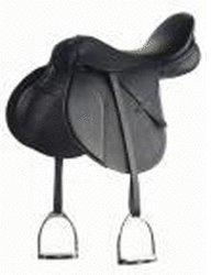 Pfiff VS-Sattel Beauty inkl. Bügelriemen und Steigbügeln