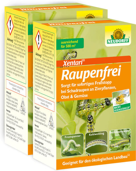Neudorff Raupenfrei Xentari 2 x 25g