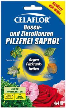 Celaflor Rosen- und Zierpflanzen Pilzfrei Saprol 4 x 4 ml