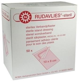 Noba Rudavlies 10 cm x 8 cm Verbandpflaster Steril (50 Stk.)