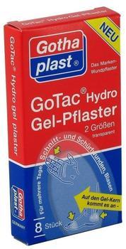 Gothaplast Gotac Hydrogelpflaster 2 Größen (8 Stk.)